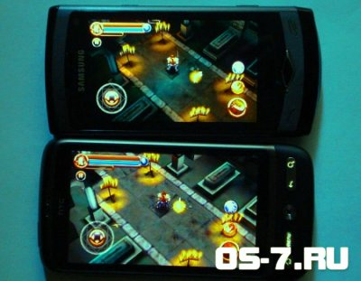 """Android игра """"Dungeon Hunter""""  / Gameloft (2011)"""